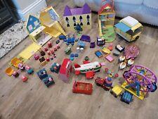 Peppa Pig Large Bundle House Cars Train Playground School