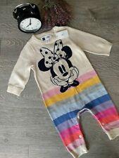 Body para bebe de GAP de Minnie Mouse Disney con etiqueta (Talla 3-6) Nuevo