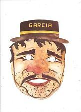 Maschera di CARNEVALE  (  B 10 ) - SERGENTE GARCIA.................anni '60