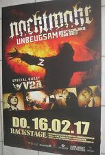 Nachtmahr - Tourposter/Tourplakat 2017 -  München - NEU