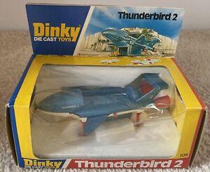 Dinky 106 Rare Thunderbird 2 With White Undercarriage