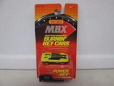 1986 Matchbox MBX Key Cars Yellow Ferrari 328