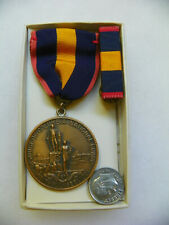 New listing Original District Of Columbia National Guard Faithful Service Medal & Bar
