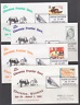 1993 97th Annual Cheyenne, Wyoming Frontier Days covers, complete set of 9, VF