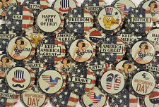 100 American Flag Beer Bottle Caps Patriotic 4th of July Decoration Home Brew