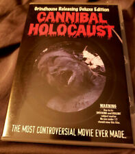 Cannibal Holocaust - Grindhouse Deluxe Edition (2 disk DVD) with poster