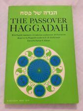 Passover Haggadah Seder Judaica E.D. Goldschmidt~Nahum N. Glatzer ~1969 Ed