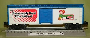 Lionel 9700 Keebler Elfin Railroad Two (different) Sided Boxcar O/027 ga. 1999