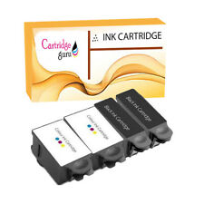 4 Advent 10 Compatibe Ink Cartridge for ABK10 ACLR10 for A10 AW10 AWP10 Printer