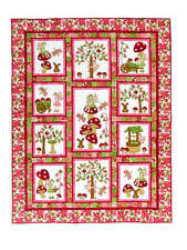 FAIRY TALES QUILT QUILTING PATTERN, Fusible Applique From Kids Quilts NEW