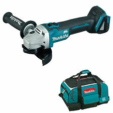 MAKITA 18V LXT DGA454 DGA454Z DGA454RFE ANGLE GRINDER AND BAG