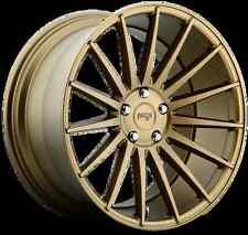 Niche Form M158 20X10 5X120 +40 Bronze Rims Fits E46 E90  325 328 335 Wide Body