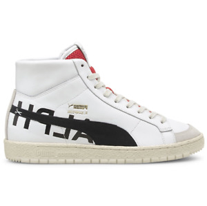 PUMA x Ralph Sampson 70 Mid 38119901 White Leather Shoes Sneakers