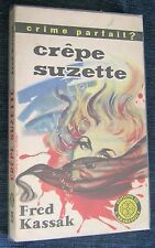 polar humoristique- CREPE SUZETTE - Fred Kassak - L'Arabesque - Jef de Wulf-