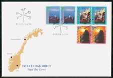 Mayfairstamps Norway Fdc 1998 Cover Forstedagsbrev Booklet Pairs wwk29781