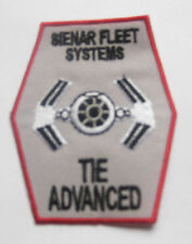 STAR WARS sienar fleet systems Tie Ln Advance starfighter Patch Badge