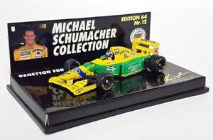 Minichamps 1/64 Scale 641112 Benetton Ford B193 Michael Schumacher Portugal 1993