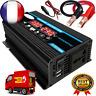 4000W 12V à 220 V/110 V LED voiture onduleur convertisseur chargeur adaptateur