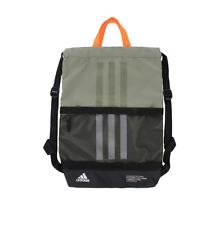 Adidas Amplifier II Blocked SACKPACK Signal Green Orange Gym Bag NIP