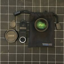 Sandmarc 2X Telephoto Lens with 2 iPhone cases + Bag + Clip + 2 lens covers