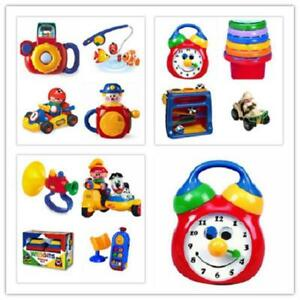 Tolo Toys New Funtime Fishing,Camera,Wedgits,Musical Clock,Jack,Mobile Phone