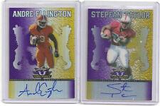 Andre Ellington / Stepfan Taylor auto/autograph rookie cards both #/25.  nice.