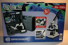 Mikroskop Bresser BioLux NV 20x-1280x quasi nicht benutzt mit Koffer und Zubehör