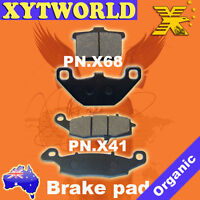 Front Rear Brake Pads for Kawasaki VN1500 VN 1500 Classic