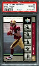 Alex Smith 2005 Upper Deck Rookie Premiere Platinum #2 RC PSA 10