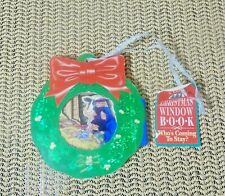 WHO'S COMING TO STAY? A Little Christmas Window Book Ornament (OZ 010)