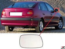 FOR TOYOTA AVENSIS T22 97-03 NEW WING MIRROR GLASS HEATED WITH FRAME RIGHT O/S