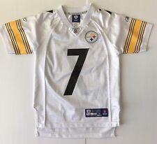 Pittsburgh Steelers Ben Roethlisberger Football Jersey NFL Boys Small 8