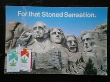 POSTCARD  POSTER - FOR THAT STONED SENSATION - REFERS