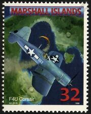 Us navy Vought F4U Corsair transporteur avions de chasse Avion Mint Stamp