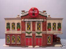 """Dept. 56 Snow Village """"Coca-Cola Bottling Plant"""" Retired"""