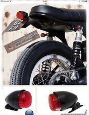 Faro Fanale Luce Fanalino posteriore moto universale Cafe racer Custom Omologato