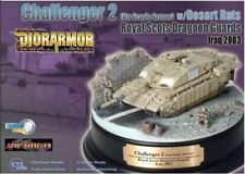 Dragon Armor Challenger 2 Diorama Model Desert Rats Iraq 2003 1/72 Scale 60197