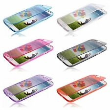 Pour Samsung Galaxy S6 Edge plus Etui Rabat en Gel Souple  Transparent