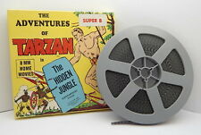 VINTAGE 8mm KEN FILMS THE ADVENTURES OF TARZAN IN THE HIDDEN JUNGLE No. 53 R1427