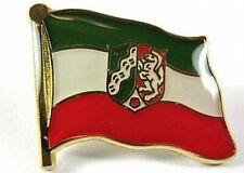 North Rhine-Westphalia Flags Pin, 1,5 cm, Germany, New, Pressure Lock