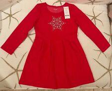 Gymboree NEW Christmas Dress size S (5-6)