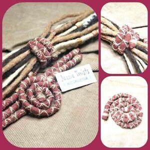 Dreadlocks Hair tie, Bendable dread wrap, Like Spiralock, Bendable wire stick