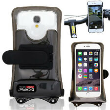 "DiCAPac WP-C1A(5.1"") Smart Phone Waterproof Case+Bike Mount f/ iPhone 5 6 Galaxy"