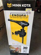 "Minn Kota Endura C2 30lb Trolling Motor w/ 30"" Shaft NEW IN BOX! + FREE SHIPPING"