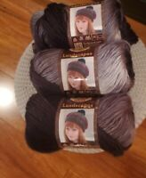 Lion Brand Yarn Landscapes Line, Metropolis, Lot of Three (3) Skeins Brand New