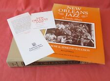 NEW ORLEANS JAZZ A FAMILY ALBUM BY AL ROSE AND EDMOND SOUCHON 1978 HARDBACK