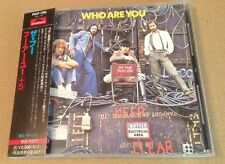 The Who - Who Are You Rare Japanese Cd Album Complete w OBI Strip + Lyric Sheet