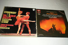 Lot of 2 BERNARD HAITINK LP Box Sets Mozart Don Giovani / Stravinsky 3 Ballets