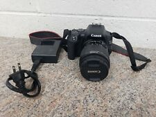 Canon EOS 250D 24.1 MP Digital SLR Camera - Black Kit with 18-55mm Lens