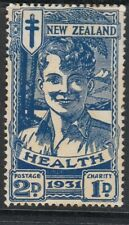 New Zealand 1931 2d Smiling Boy SG547 - mounted mint
